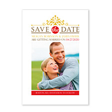 Let's Stay Together Save the Date Photo Cards