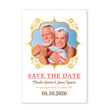 On Bended Knee Save the Date Cards