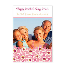 Butterfly Kisses Mother's Day Photo Cards