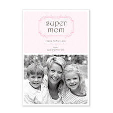 Super Mom Photo Cards