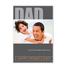 Cool Dude Dad Father's Day Cards