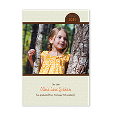 Noteworthy Graduation Announcement Photo Cards