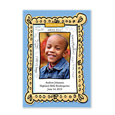 Way to Go! Graduation Announcement Photo Cards