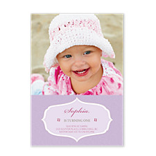 Sweet One Kid Party Invitations