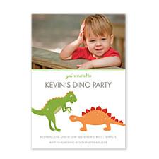Dino Kids Party Invitations