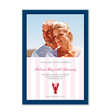 Lobsterfest Adult Party Invitations