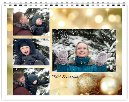 Seasonal 12 Month Photo Wall Calendar 11 x 8.5