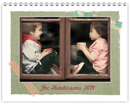 Textures 12 Month Photo Wall Calendar 11 x 8.5